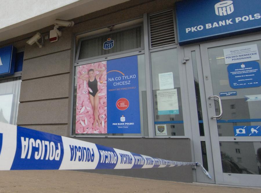 Napad na bank w Warszawie
