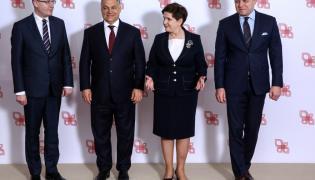 Bohuslav Sobotka, Viktor Orban, Beata Szydło i Robert Fico