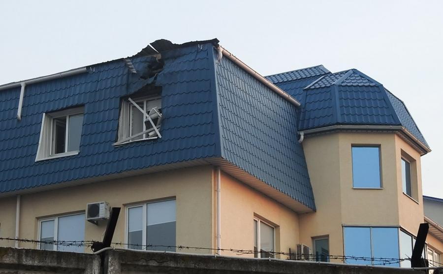 Zaatakowano budynek konsulatu
