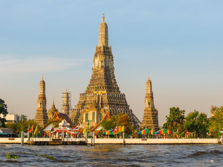Światynia Wat Arun w Tajlandii