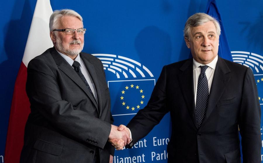 Witold Waszczykowski i Antonio Tajani