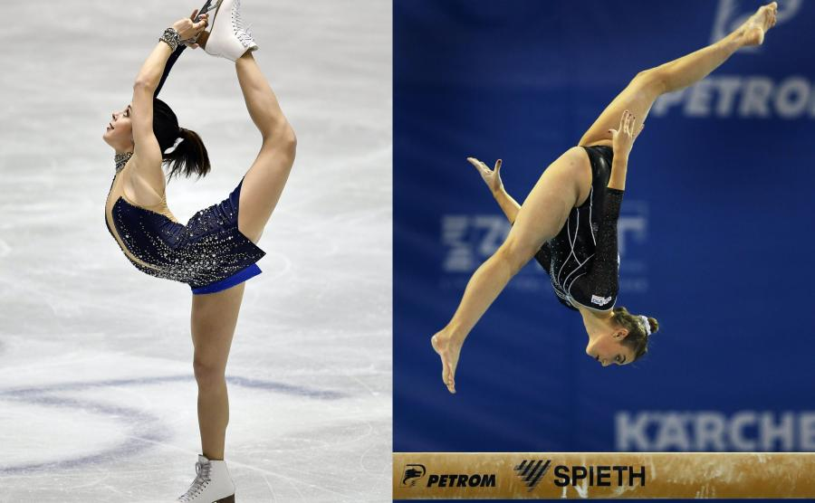 Ashley Wagner i Cintia Rodriguez Rodriguez