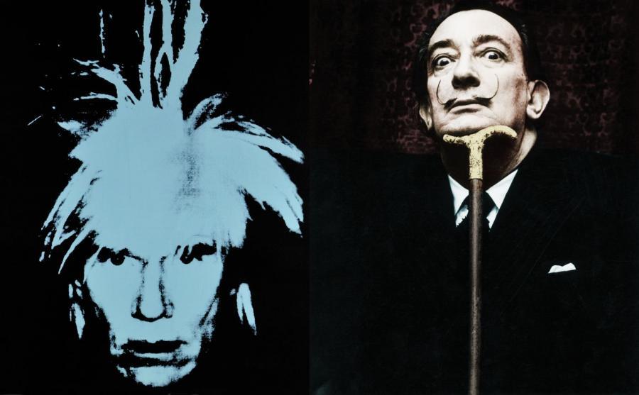 Dali kontra Warhol