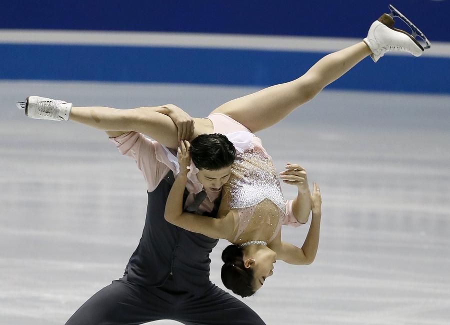 Wang Shiyue i Liu Xinyu