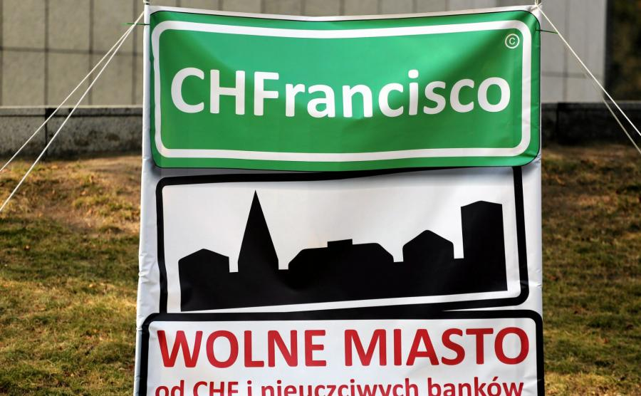 Protest frankowicze