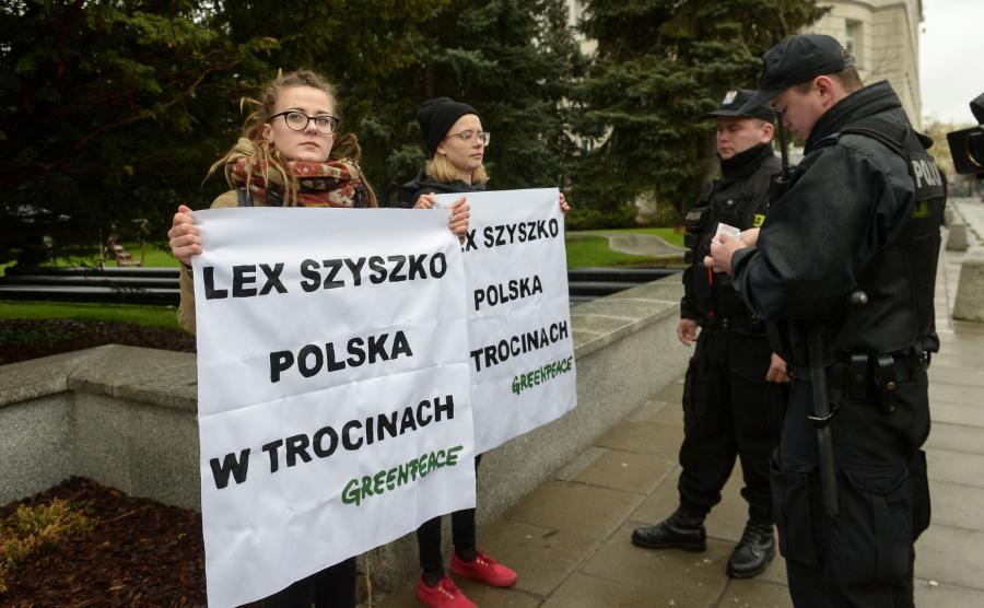 Policja i ekolodzy
