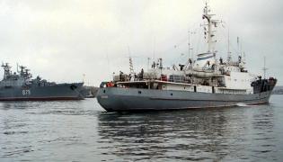 Rosyjski okręt szpiegowski Limań