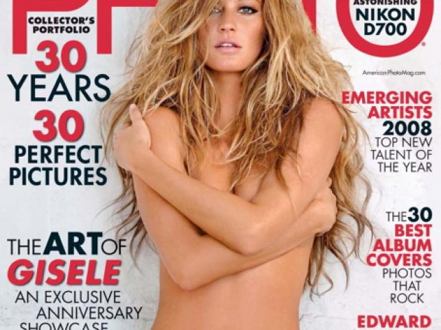 "Gisele Bundchen w ""American Photo Magazine"""