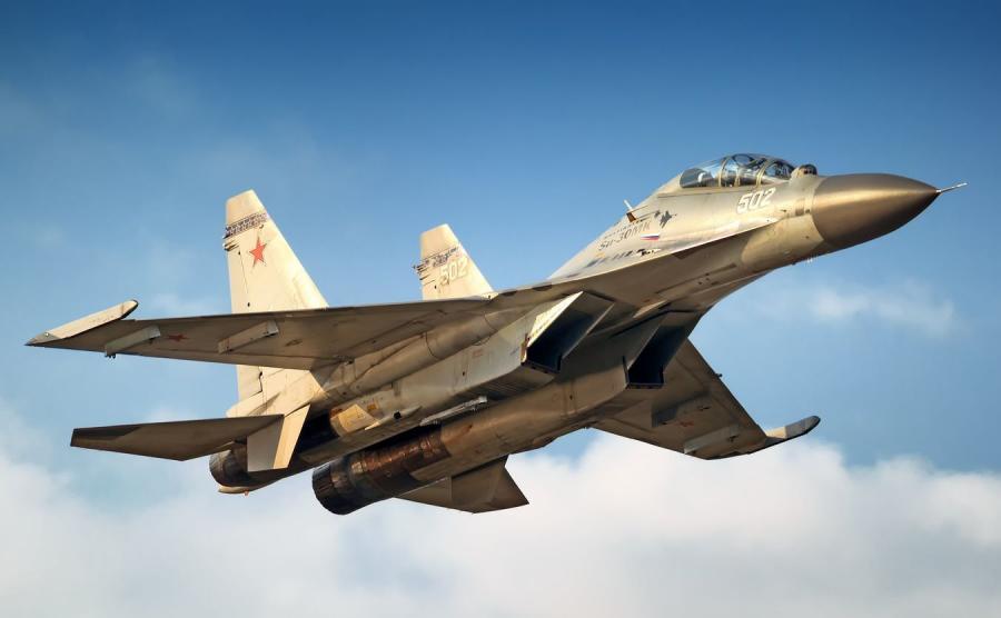 Rosyjski myśliwiec Su-30