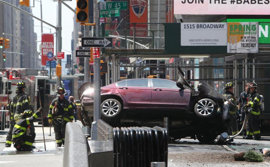Wypadek na Times Square