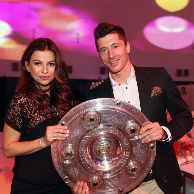 Robert Lewandowski i Anna Lewandowska