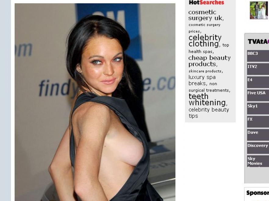 Zobacz piersiowe wpadki celebrytek