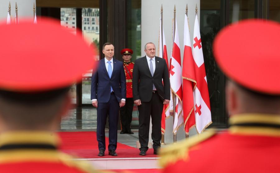 Andrzej Duda, Giorgi Margwelaszwili