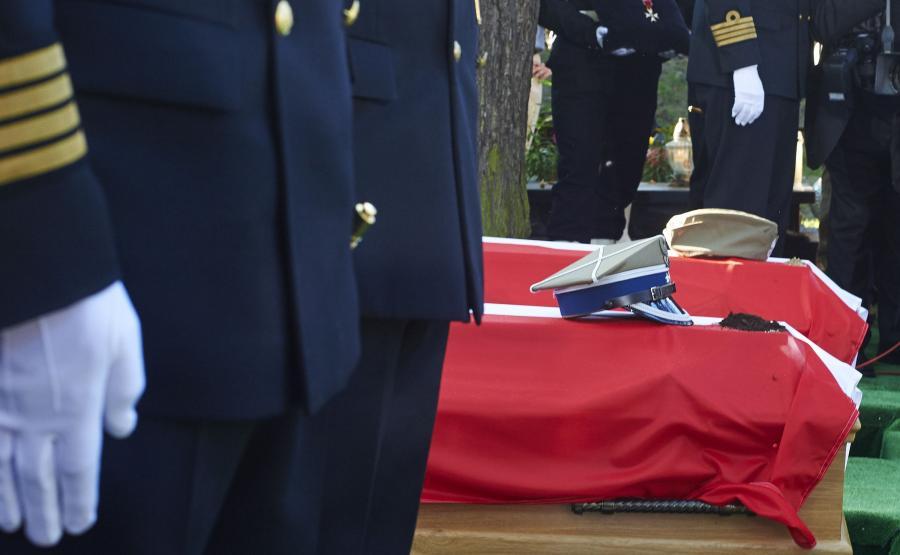 Na Cmentarzu Garnizonowym w Gdańsku pochowano Danutę Siedzikównę ps. Inka