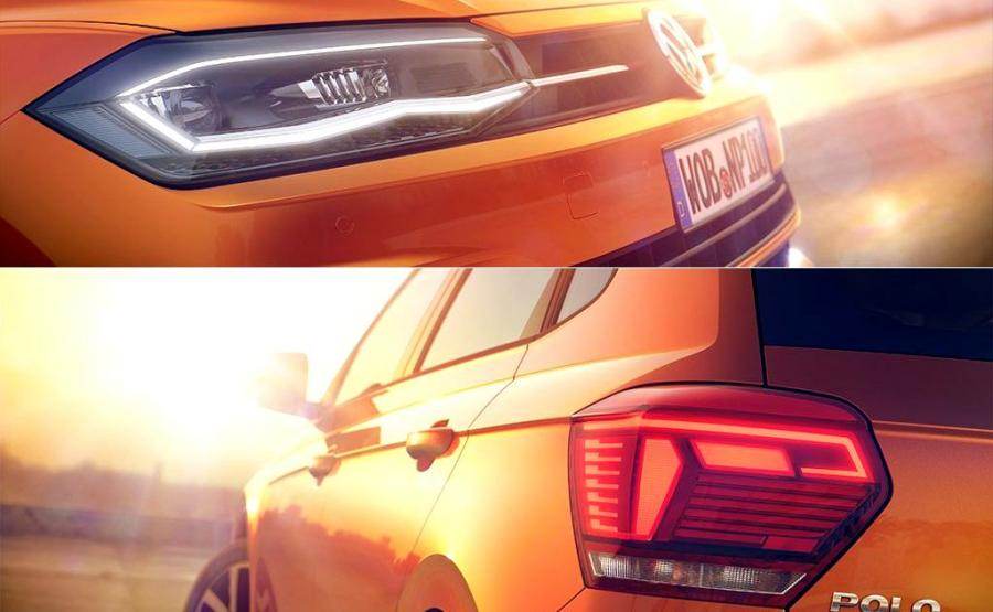 Volkswagen polo nowej generacji oficjalnie zadebiutuje 16 czerwca w Berlinie