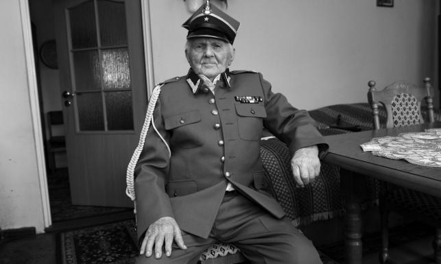 Żołnierz AK i NZW Andrzej Kiszka