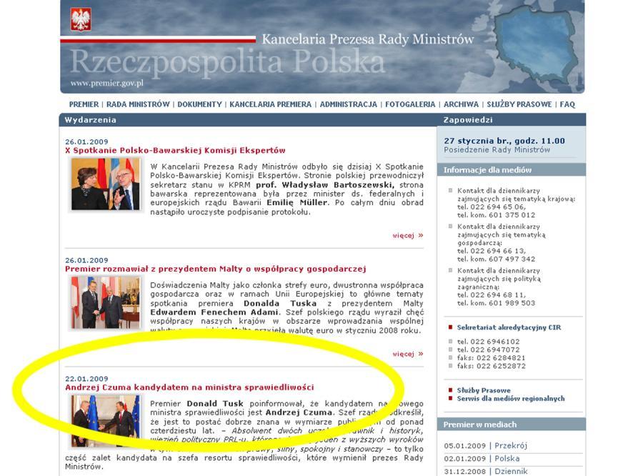 Tusk przegrywa w internecie z prezydentem