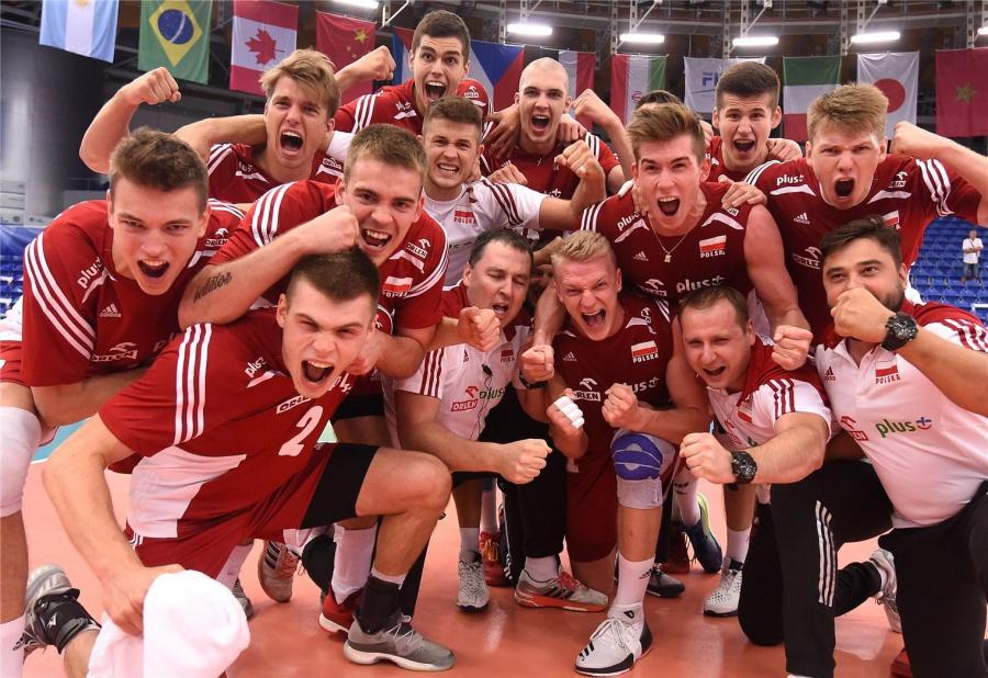 Reprezentacja Polski siatkarzy do lat 21 / fot. FIVB