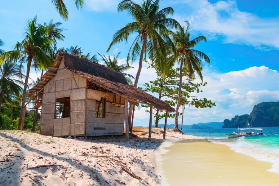 Filipiny - jedna z tysiąca plaż na wyspach