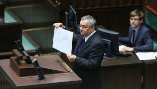 Andrzej Adamczyk przemawia w Sejmie