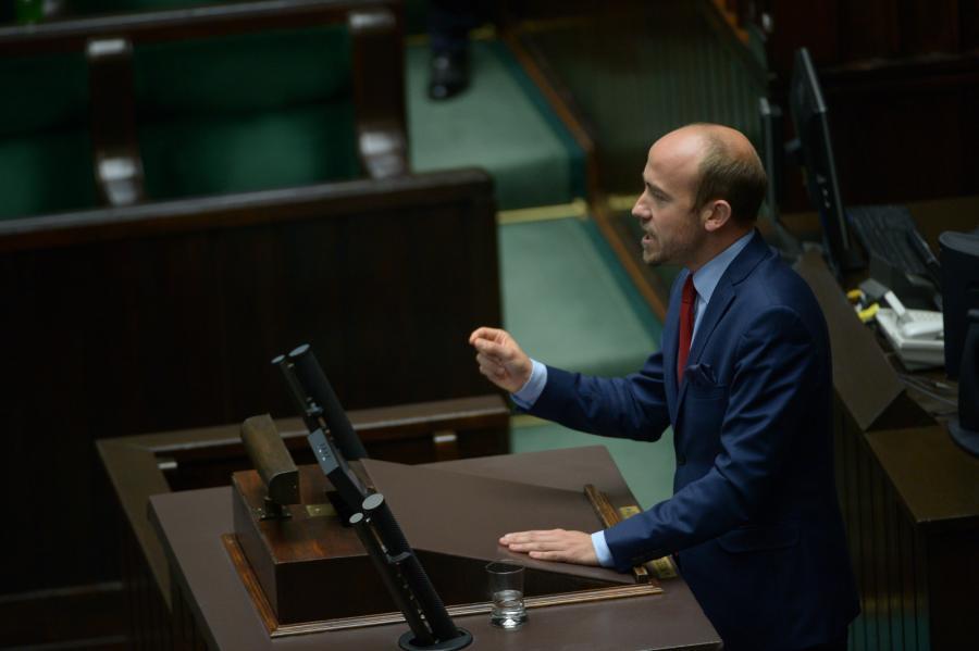 Poseł PO, były minister sprawiedliwości Borys Budka