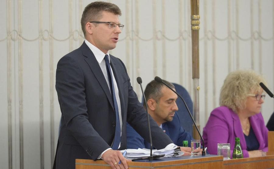 Wiceminister Marcin Warchoł
