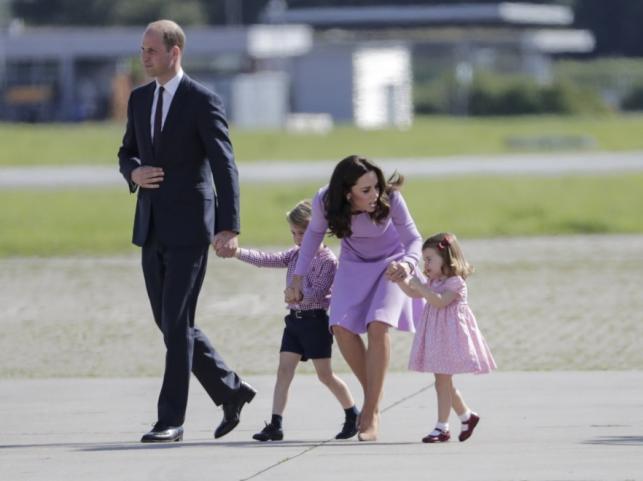 Książę William i księżna Catherine oraz książę George i księżniczka Charlotte