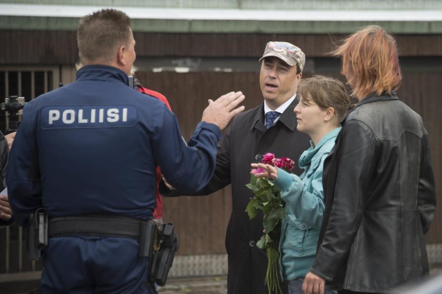Policja w fińskim Turku