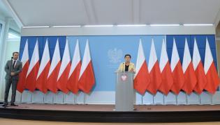 Konferencja prasowa premier Beaty Szydło
