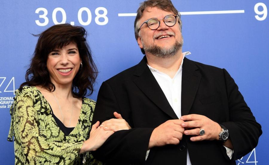 Guillermo del Toro i Sally Hawkins