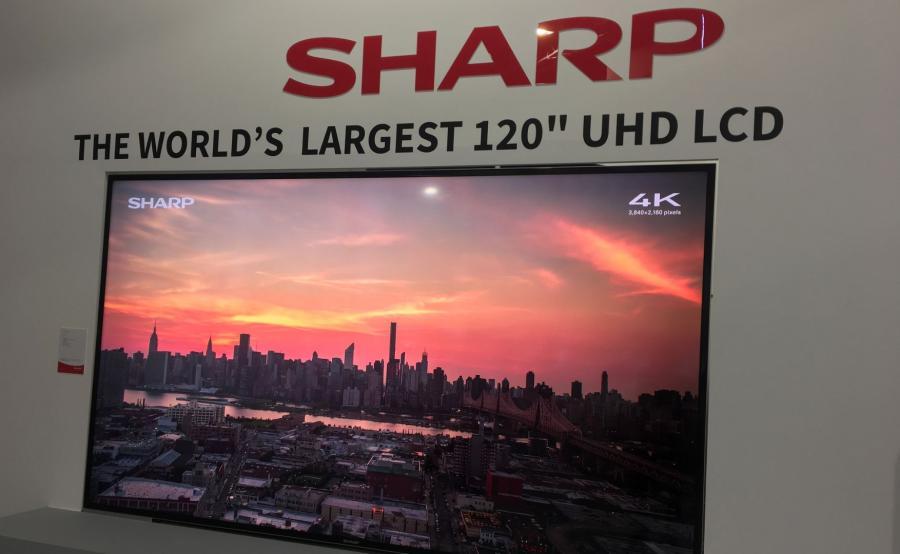 IFA - Sharp UHD 120 cali