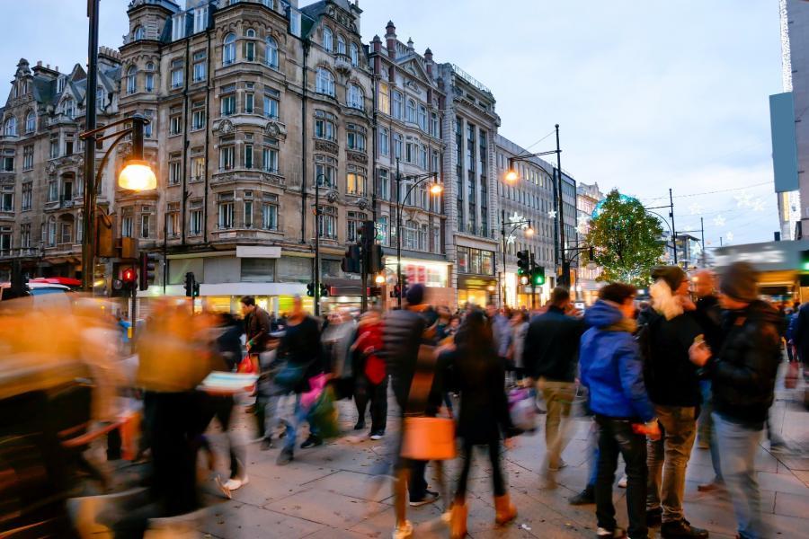 Oxford Street w Londynie