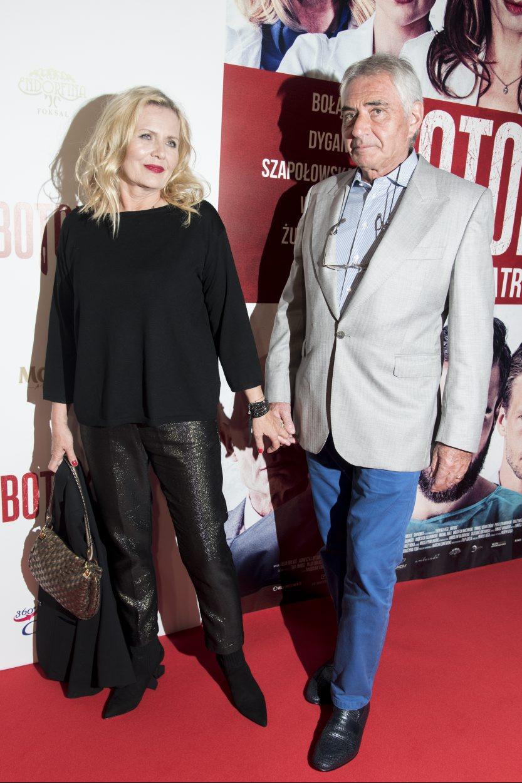 Grażyna Szapołowska i Eryk Stępniewski