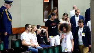Lekarze rezydenci w Sejmie