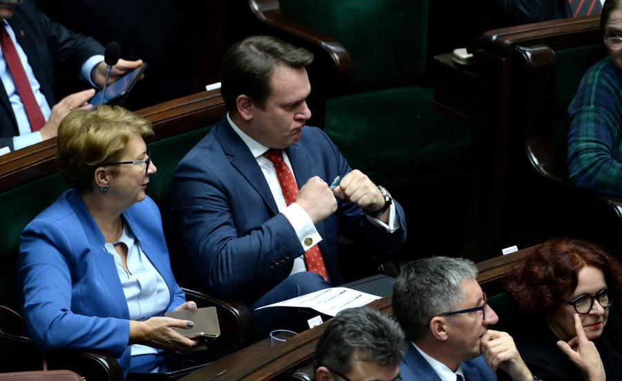 Dominik Tarczyński z PiS