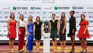 Caroline Garcia, Caroline Wozniacki, Elina Svitolina, Simona Halep, Garbine Muguruza, Karolina Pliskova, Venus Williams i Jelena Ostapenko