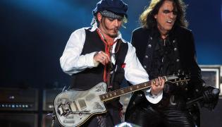 Johnny Depp i Alice Cooper, czyli Hollywood Vampires