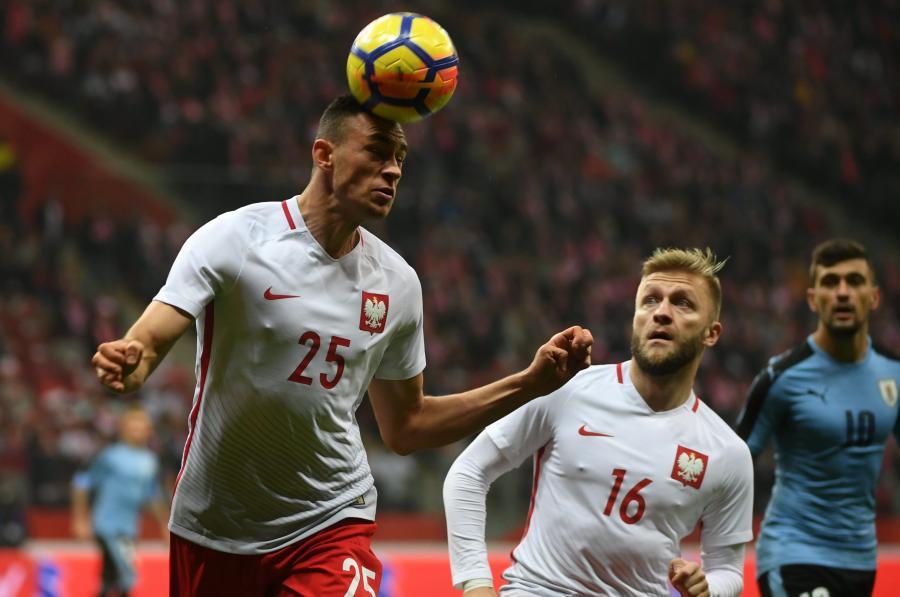 Jarosław Jach (L) i Jakub Błaszczykowski (C)