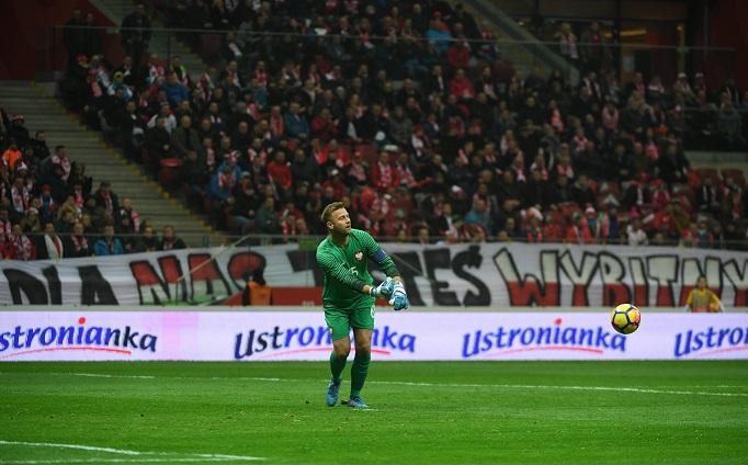 Bramkarz piłkarskiej reprezentacji Polski Artur Boruc