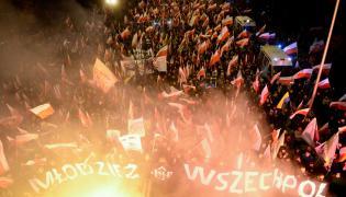 Młodzież Wszechpolska na Marszu Niepodległości