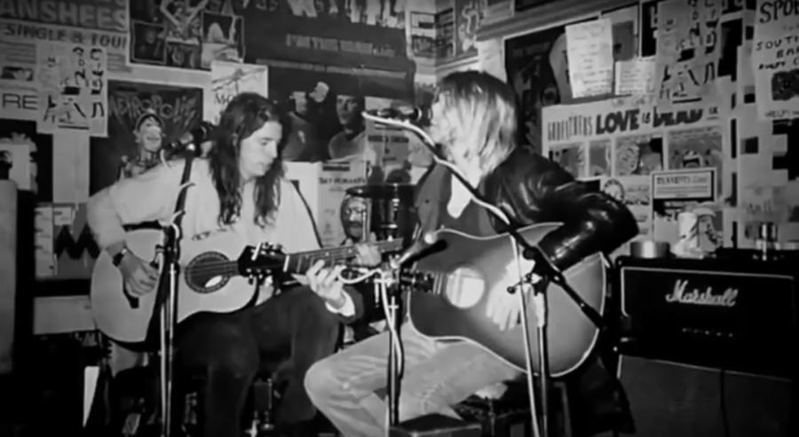 Nirvana w 1991 - kadr z kanału YouTube More Nirvana