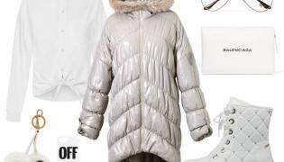 Otul się na zimę. STYLIZACJA: kurtka – Boca/boca.pl, koszula - BlackorWhite/blackorwhite.pl, buty – Caprice/caprice.pl, dodatki – TK MAXX