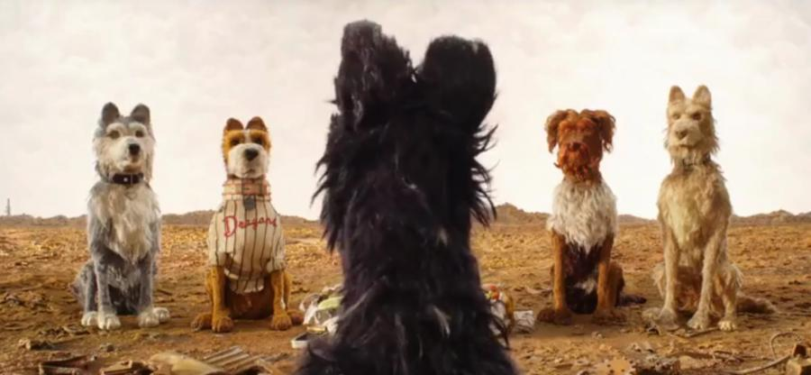 Kadr z filmu Wesa Andersona \