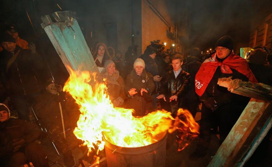 Zwolennicy Saakaszwilego