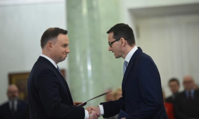 Nowy - stary rząd Mateusza Morawieckiego powołany. Jedyna zmiana... tylko na stanowisku premiera