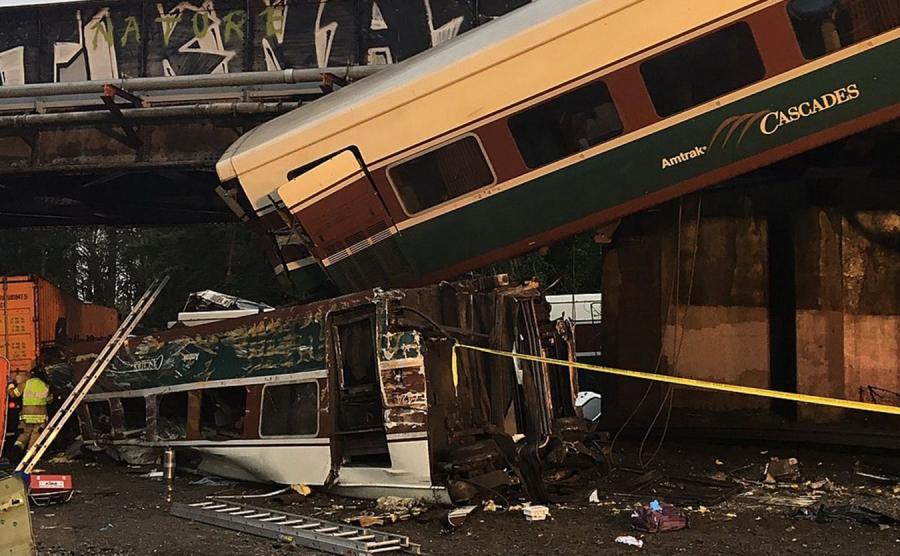 Wypadek pociągu Amtrak