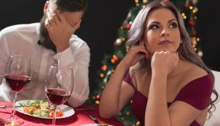 Kłótnia przy świątecznym stole