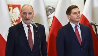 Antoni Macierewicz i Bartosz Kownacki