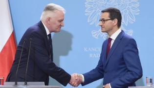 Jarosław Gowin i Mateusz Morawiecki