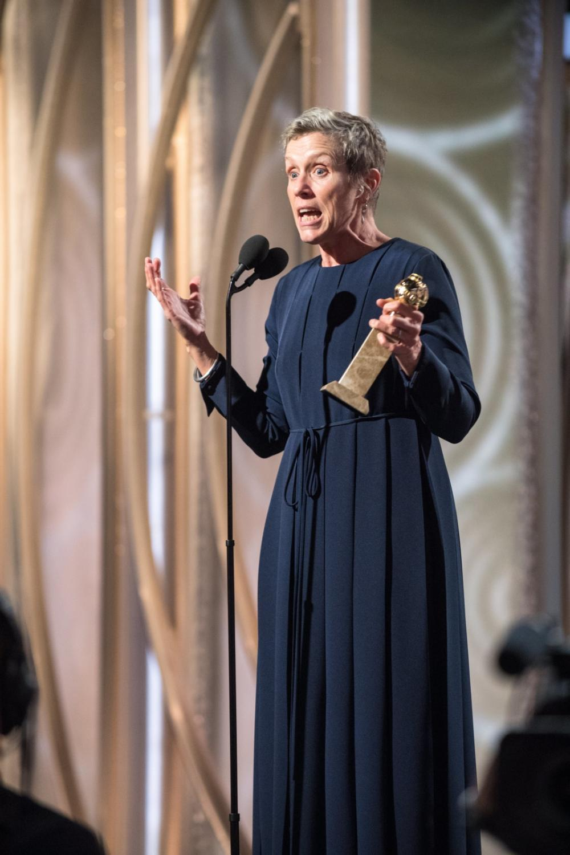 Frances McDormand z nagrodą za \